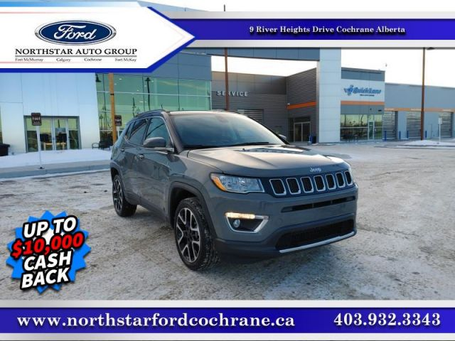 2020 Jeep Compass Limited  - Top Luxury -  Navigation - $228 B/W
