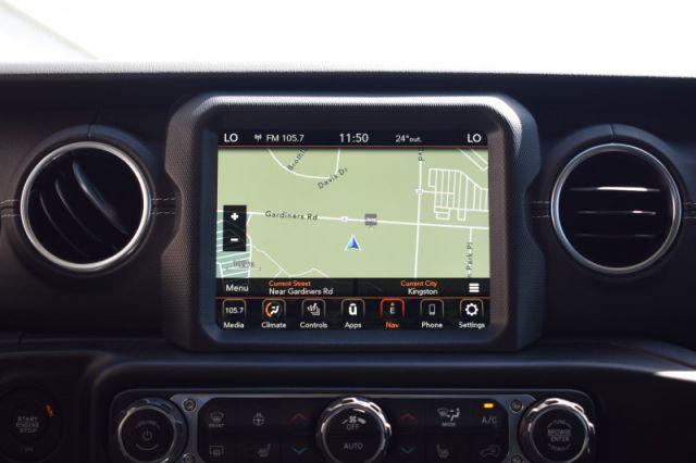 2020 Jeep Gladiator Overland  - Navigation -  Uconnect