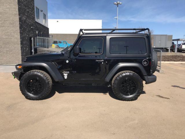 2020 Jeep Wrangler Sport S   ALBERTA'S #1 PREMIUM PRE-OWNED SELECTION