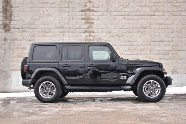 2020 Jeep Wrangler Unlimited Sahara    4X4   LEATHER