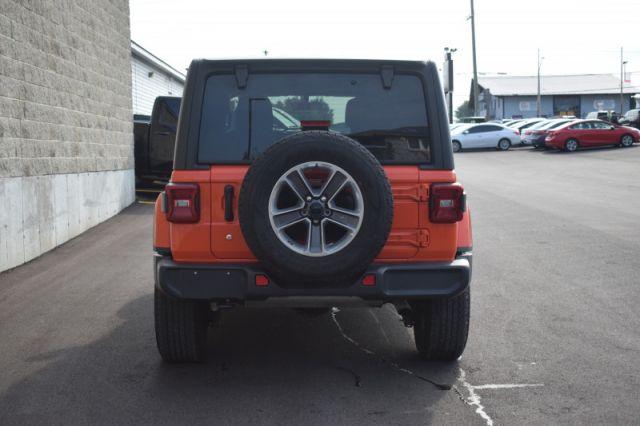 2020 Jeep Wrangler Unlimited Sahara  - Aluminum Wheels