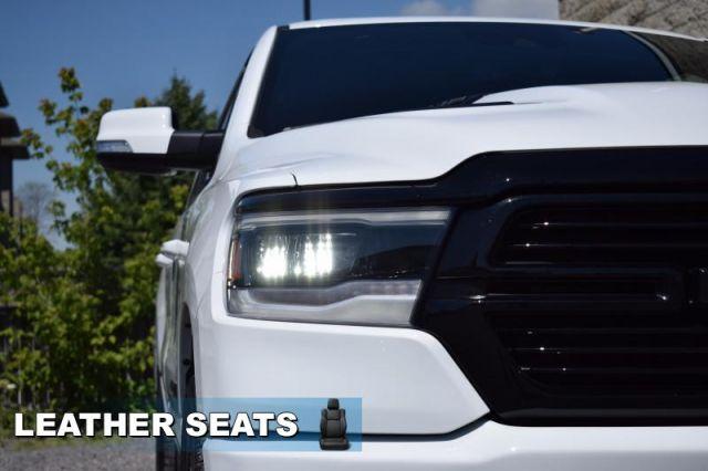 2020 Ram 1500 Sport  - Night Edition - Leather Seats