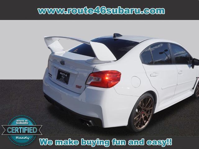 2020 Subaru WRX STI Series.White