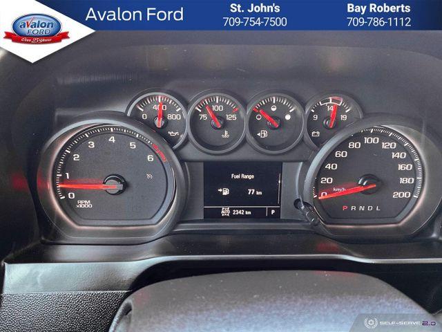 2021 Chevrolet Silverado 1500 Crew Cab 4x4 WT / Standard Box