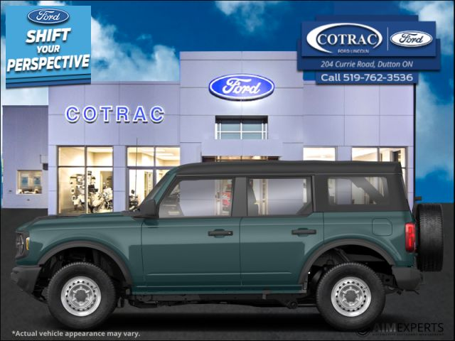 2021 Ford Bronco Outer Banks 4X4  - Leather Seats - $367 B/W