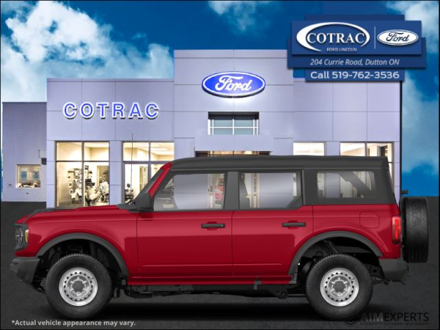 2021 Ford Bronco Outer Banks 4X4  - Leather Seats - $388 B/W