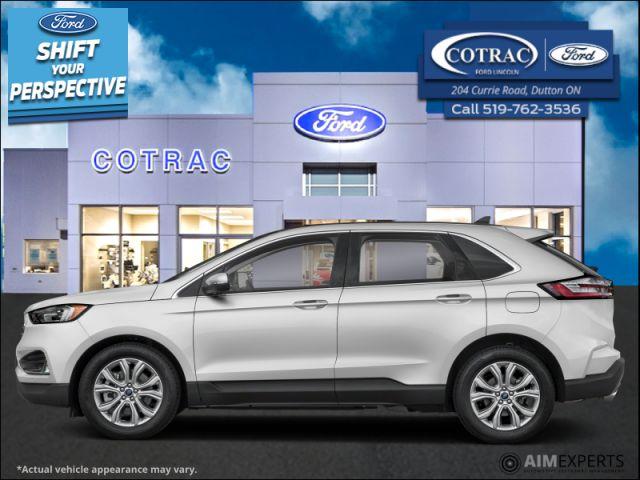 2021 Ford Edge Titanium  - Sunroof - Leather Seats - $296 B/W