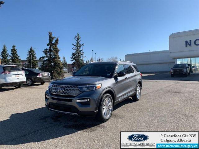 2021 Ford Explorer Limited Hybrid  - $366 B/W