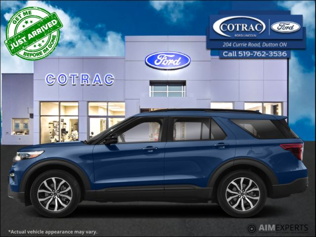 2021 Ford Explorer ST  - Leather Seats -   Cooled Seats - $406 B/W