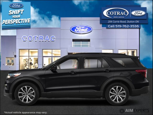 2021 Ford Explorer ST  - Leather Seats -   Cooled Seats - $395 B/W