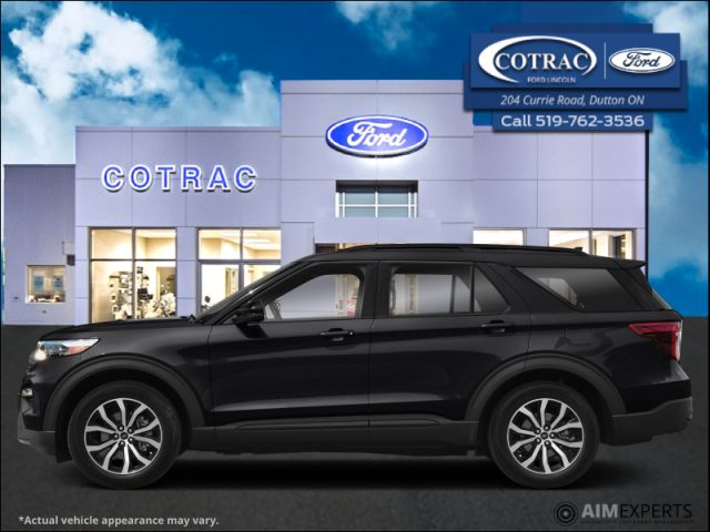 2021 Ford Explorer ST  - Leather Seats -   Cooled Seats - $402 B/W