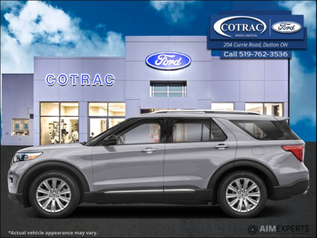 2021 Ford Explorer XLT High Package  - Sunroof - $330 B/W