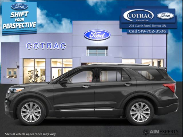 2021 Ford Explorer Limited  - Leather Seats -  Cooled Seats - $327 B/W
