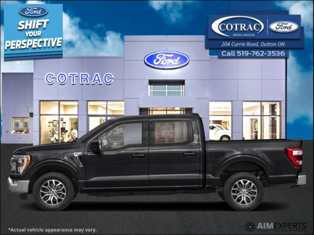 2021 Ford F-150 Lariat  - Leather Seats - $412 B/W
