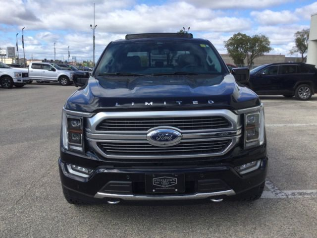 2021 Ford F-150 CREW 4X4 LIMITED LEATHER/MOON TIRES